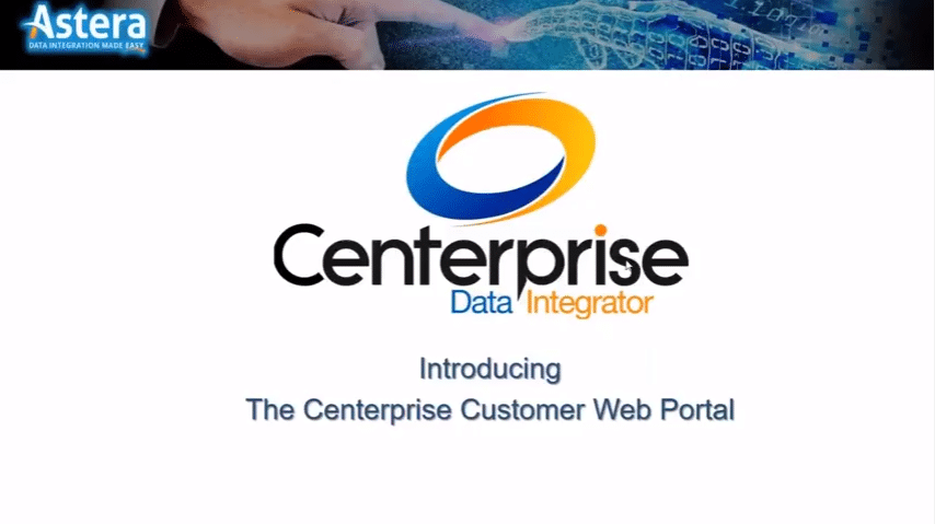 Introduciendo: Centerprise Portal web