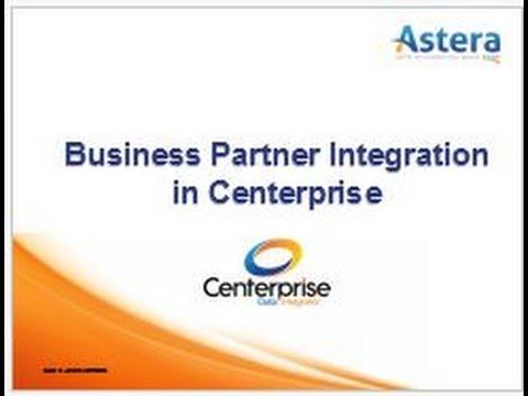 Integración de socios de negocios en Centerprise