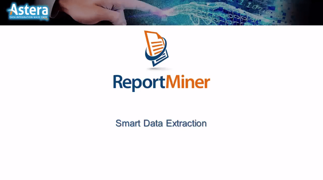 ReportMiner7 Demo