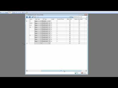 Verwendung der Datenbanktabellenquelle in Centerprise Data Integrator