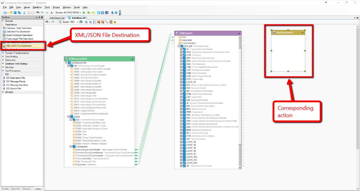 Top EDIConnect Features: EDI Source Files and Parsing   Astera