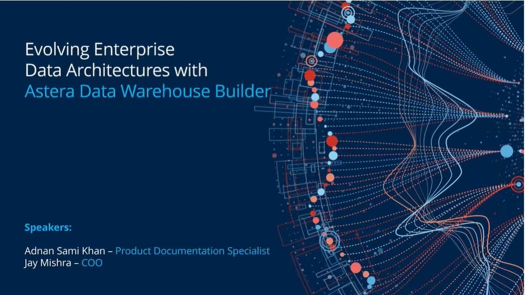 Astera Data Warehouse Builder Webinar
