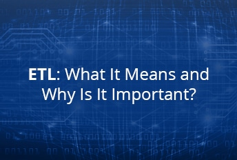 What does ETL stand for