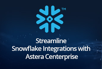 snowflake integrations in centerprise